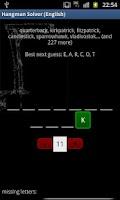 Screenshot of Hangman Solver (English)