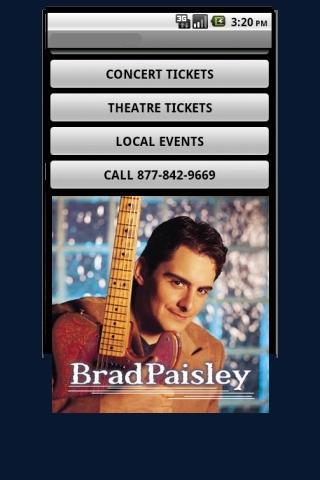 Brad Paisly Tickets
