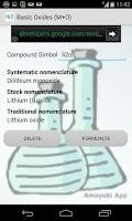 Screenshot of Inorganic Formulation PRO