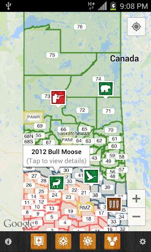 IHunter Saskatchewan - screenshot