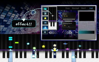 Screenshot of Piano Holic(rhythm game)-free