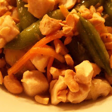 Lemon Cashew Chicken Stir-Fry