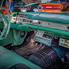 Impala Interior by Ron Meyers - Transportation Automobiles