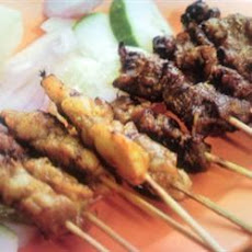 Best Chicken Satay Skewers