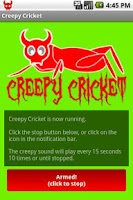 Screenshot of Creepy Cricket