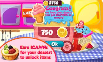 Screenshot of Dessert Maker