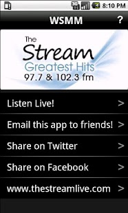WSMM The Stream Greatest Hits - screenshot