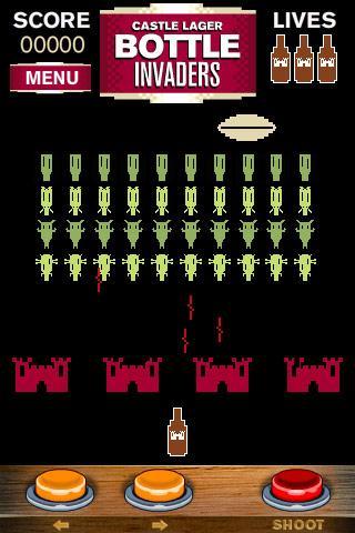 Bottle Invaders