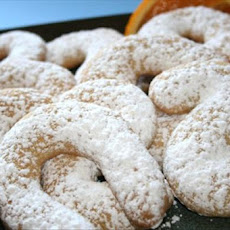 Orange Cookies (Koulourakia)