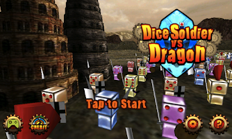 Screenshot of DiceSoldier vs Dragon