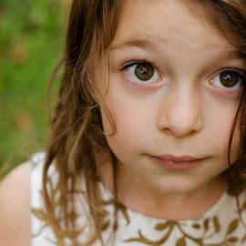 Miss M by Alicia Rae - Babies & Children Children Candids ( child, girl, innocent, pretty, eyes )
