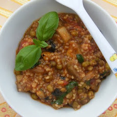 Tomato, Couscous & Bean Stew