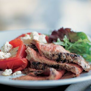 Herbed Flank Steak with Tomatoes