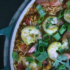 Southeast Asian Shrimp Paella