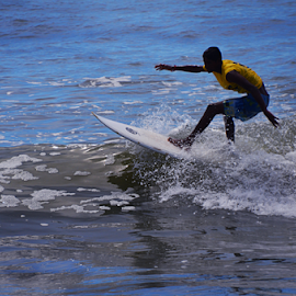 Surfer in action-5 by Arvind Akki - Sports & Fitness Surfing ( water, surfing )