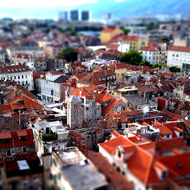 little big city by Ante Kante - Buildings & Architecture Homes ( spallato, croatia, split, city, tilt shift )