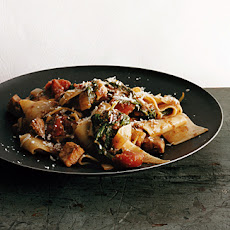 Pappardelle with Chicken and Mushroom Ragù