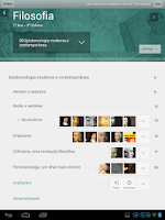 Screenshot of Ensino Médio
