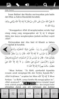 Screenshot of Kitab Tauhid