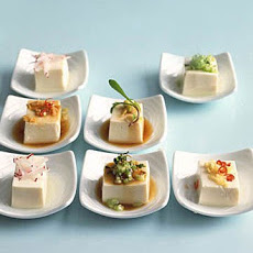 Chilled Tofu, Japanese-Style