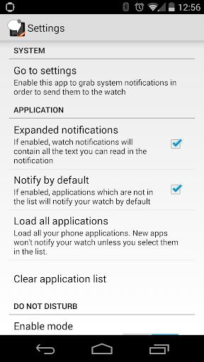 SmartWatch2 Notifier PRO - screenshot