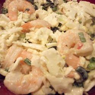 Cauliflower Shrimp Salad