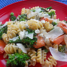 Pasta Primavera With a Gorgonzola Twist