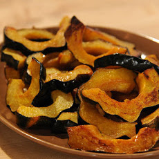 Vanilla and Cardamom-Glazed Acorn Squash Rings
