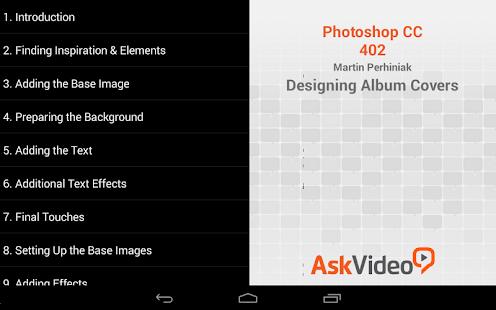App Album Cover Course: Photoshop APK for Windows Phone