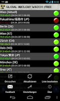 Screenshot of Global Nuclear Watch ::FREE