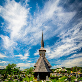 Wooden Church in Romania by Matthew Haines - Buildings & Architecture Places of Worship