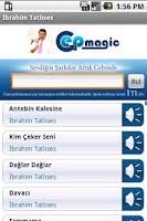Screenshot of İbrahim Tatlıses Şarkıları