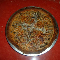 Red Onion Tri-Mushroom Quiche