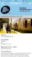 Screenshot of 48H Open House BCN 2014