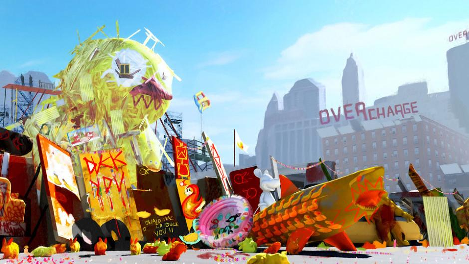 Sunset Overdrive will be crammed with guns
