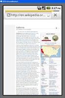 Screenshot of US States,Capitals & Nicknames