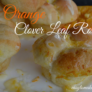 Orange Clover Leaf Roll