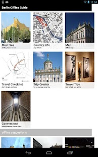 Berlin Offline Travel Guide - screenshot