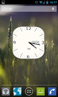 Analog Clock Widget - UCCW - screenshot