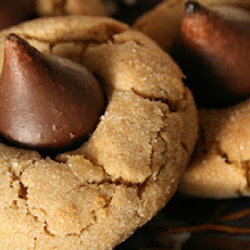 Peanut Butter Chocolate Kiss Cookies