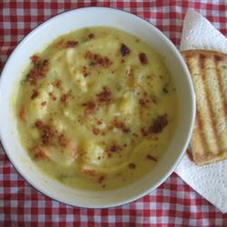 Cheesy Garden Vegetable Soup