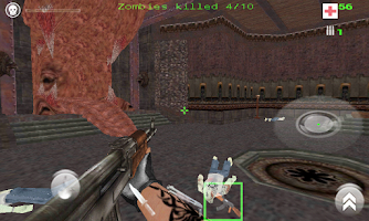 Screenshot of Quake 3 Engine- Zombie (alpha)