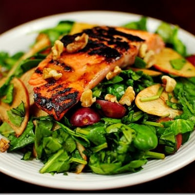 Salad Dressing Salmon