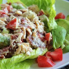 Chicken Salad with Bacon, Lettuce and Tomato