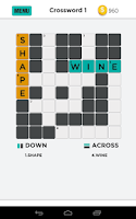 Screenshot of Pic Crossword puzzle game free