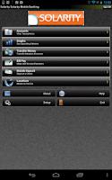 Screenshot of Solarity Mobile Banking