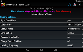 Screenshot of Mobius USB Tools