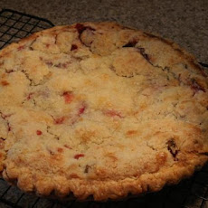 Simply Fantastic Rhubarb Custard Pie