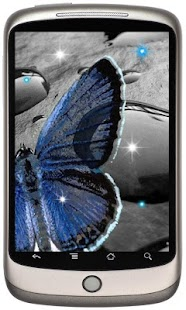 Butterfly Nice live wallpaper - screenshot