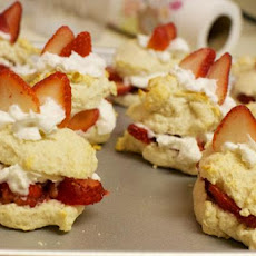 Diabetic Strawberry Shortcake